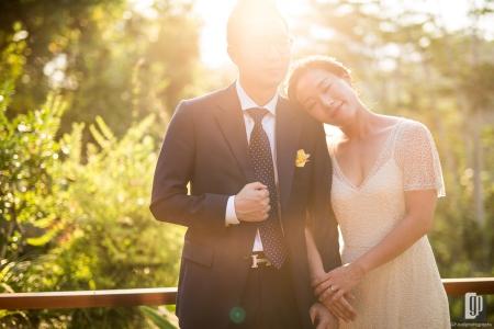 Wedding in Bukit Naga Villa Ubud Bali happy smile love wedding kiss hug together family dinner party photo tour